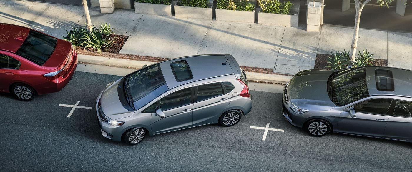 2017 Honda Fit Parallel Parking