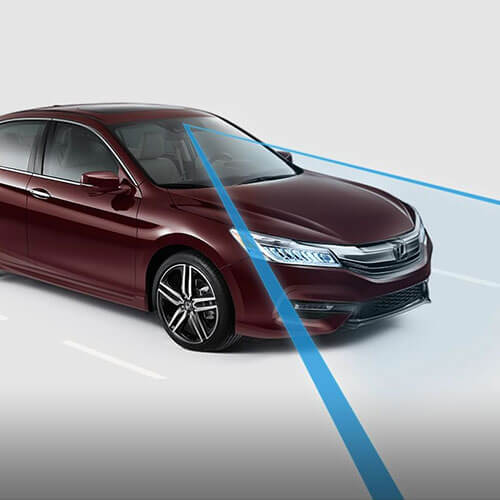 2017 Honda Accord Lane Keeping Assist System in Los Angeles