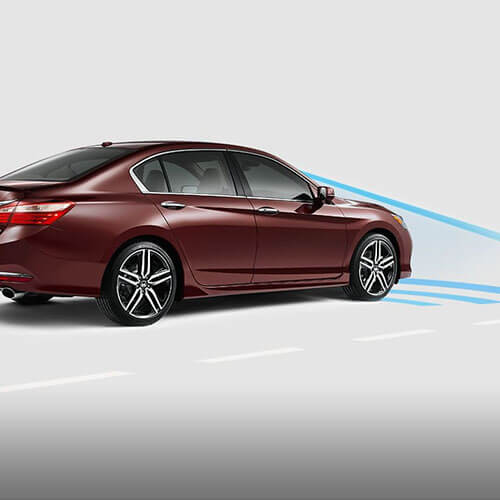 2017 Honda Accord Collision Mitigation Braking System in Los Angeles