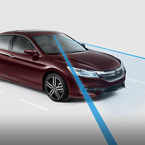 2017 Honda Accord Road Departure Mitigation System in Los Angeles