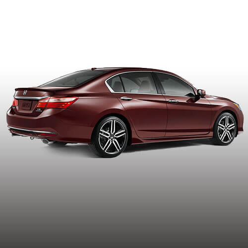 2017 Honda Accord rear design of the Sedan features a strong, stylish stance in Los Angeles