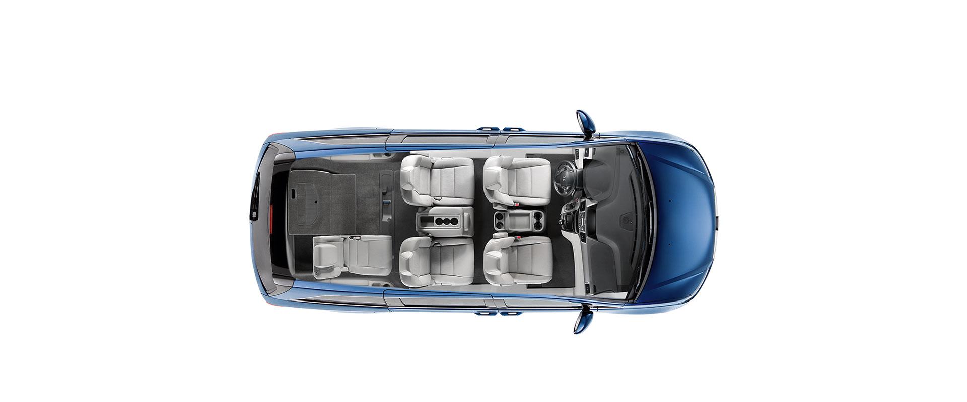 2017 Honda Odyssey 3rd-Row Magic Seat