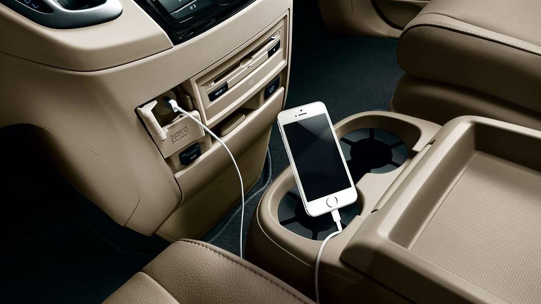 2017 Honda Odyssey interior usbs