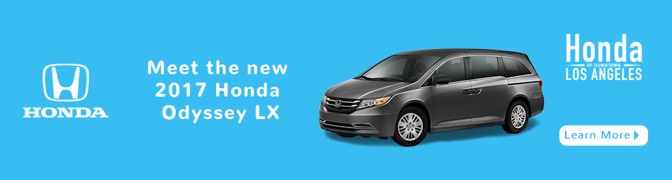 Check out these new car lease special deals on the all new Honda Odyssey. Contact our dealership in Downtown Los Angeles for more details!