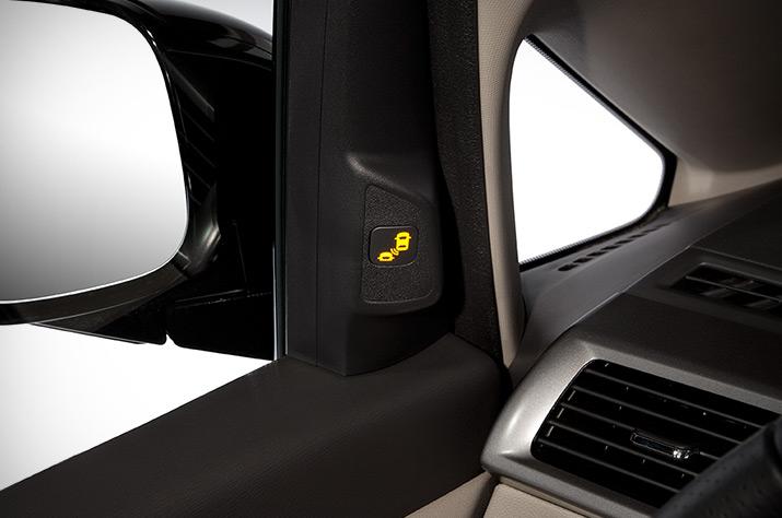2017 Honda Odyssey Blind Spot Information System