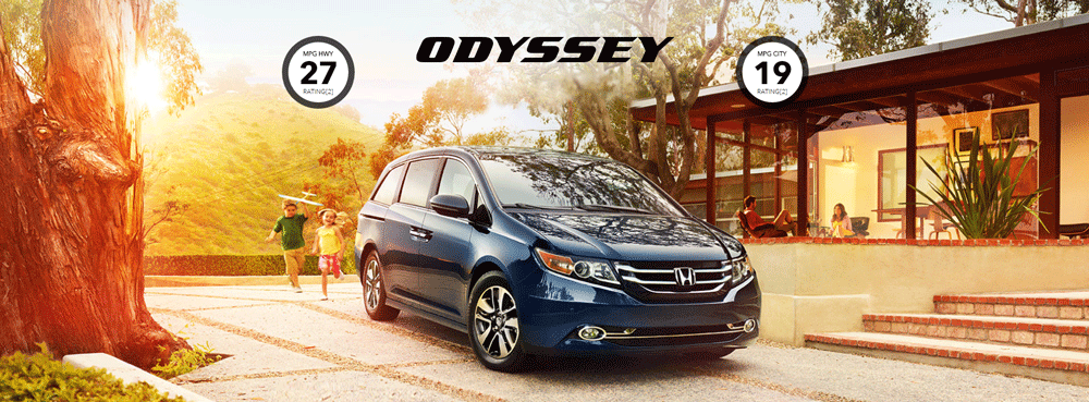 new 2017 Honda Odyssey model near Los Angeles