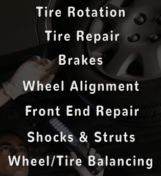 Tire and steering services at Honda of Downtown Los Angeles near Glendale