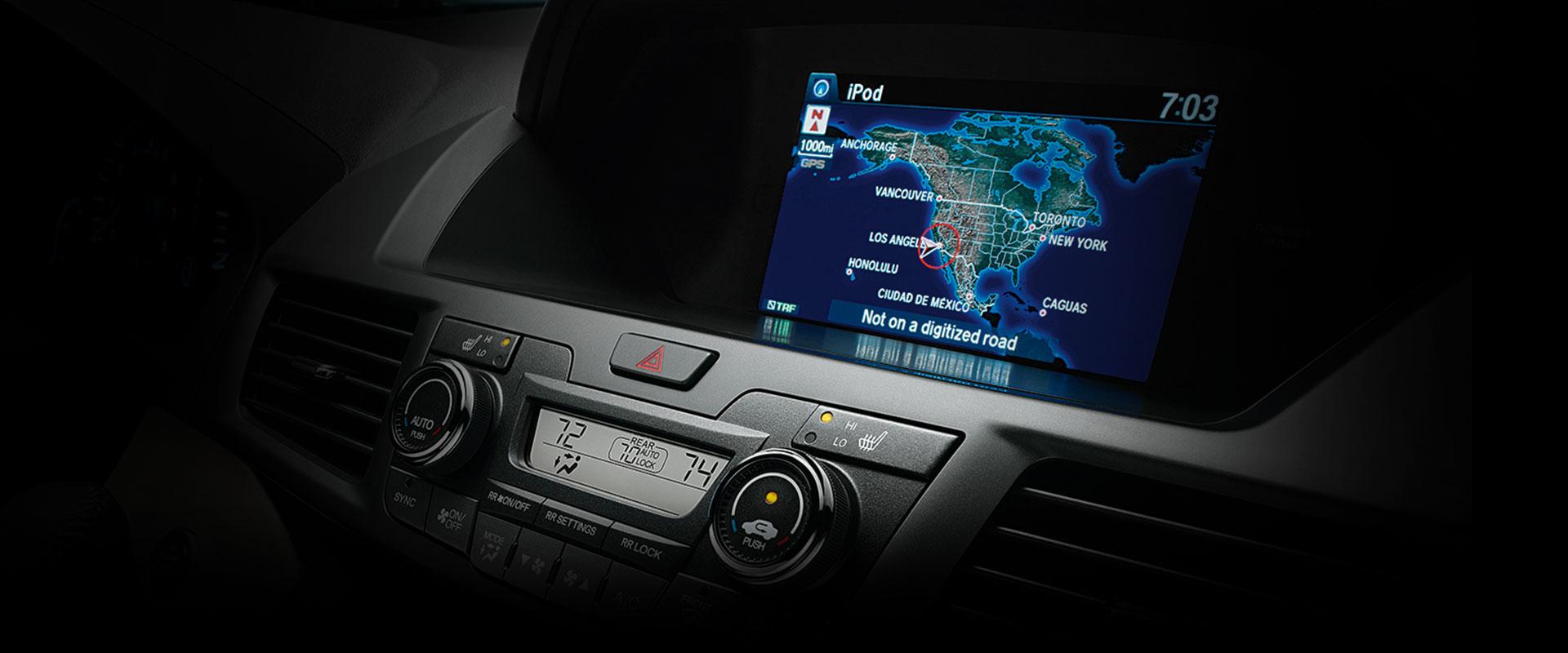 2017 Honda Odyssey Intelligent Multi-Information Display