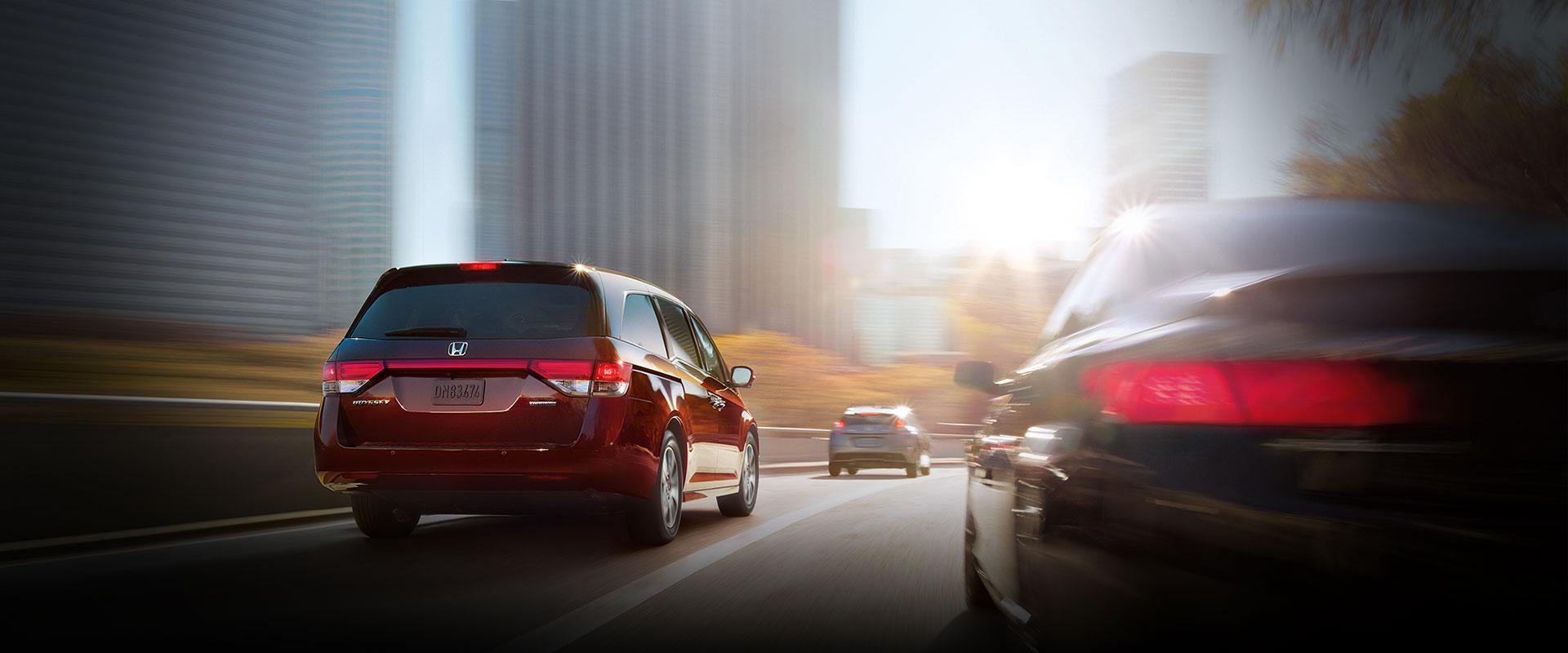 2017 Honda Odyssey Lane Departure Warning
