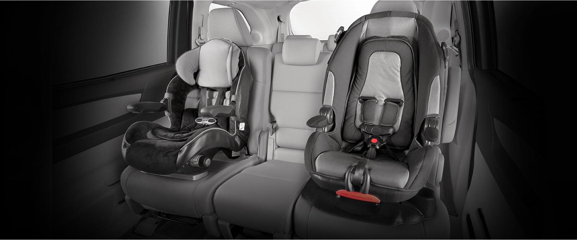 2017 Honda Odyssey child seats