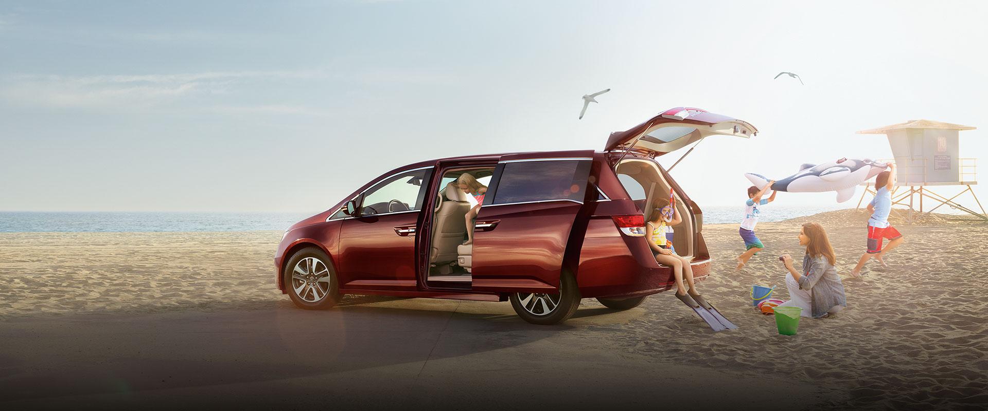 2017 Honda Odyssey tailgate