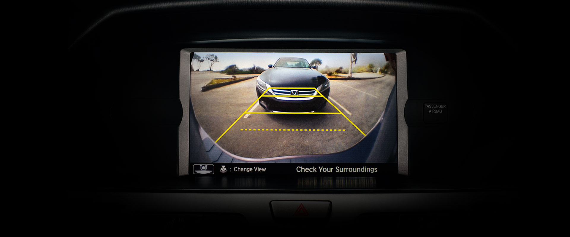 2017 Honda Odyssey Rearview Camera with Guidelines