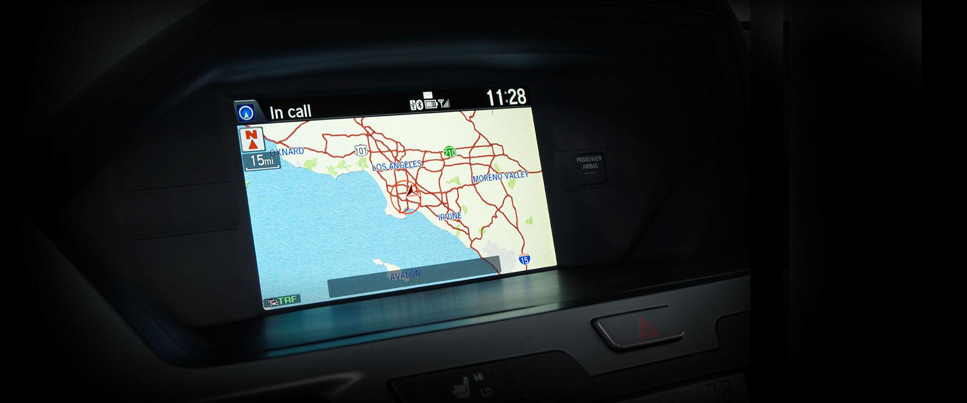2017 Honda Odyssey Honda Satellite-Linked Navigation System