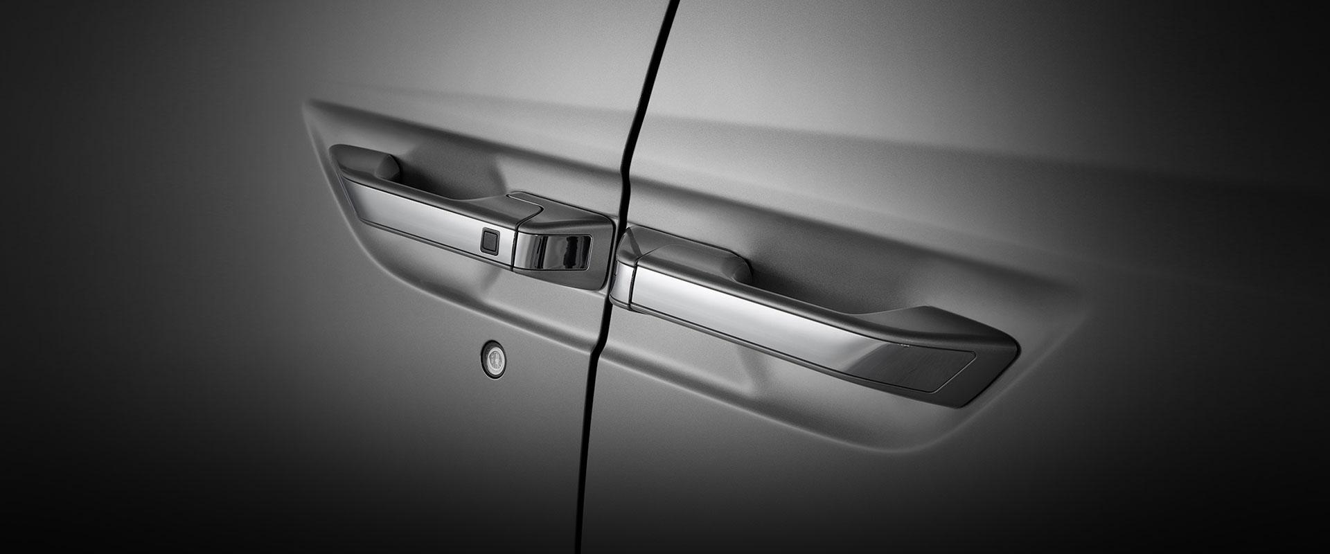2017 Honda Odyssey door handles