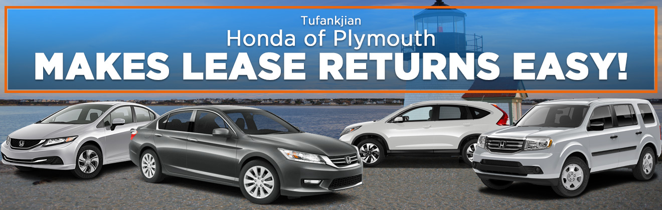 Honda Lease Returns Honda Dealer Near Kingston Ma