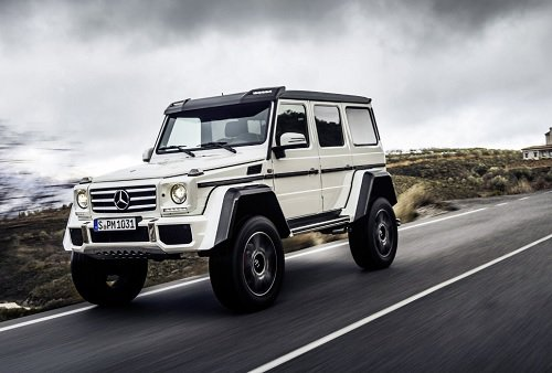 New Mercedes Benz G Cl Model And Features For 2017 G550 4x4