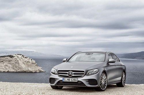 2017 Mercedes Benz E Class Brings New Styling Technology