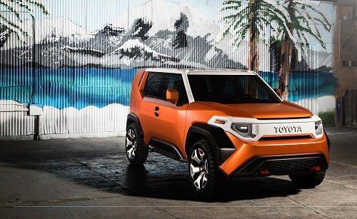 Toyota Shows Rugged Ft 4x Concept Suv At Nyias