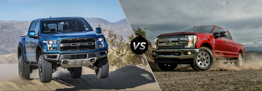 2019 Ford F-150 vs. 2019 Ford Super Duty
