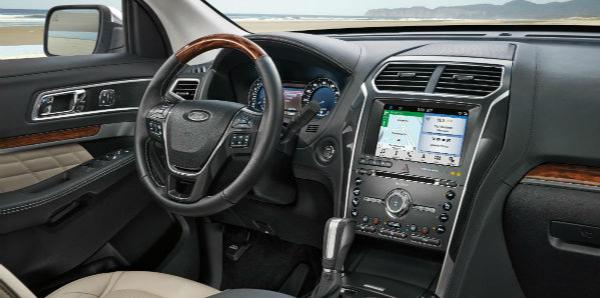 2019 Ford Explorer Infotainment Technology