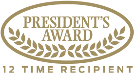 President Award - 12 Time Recipient