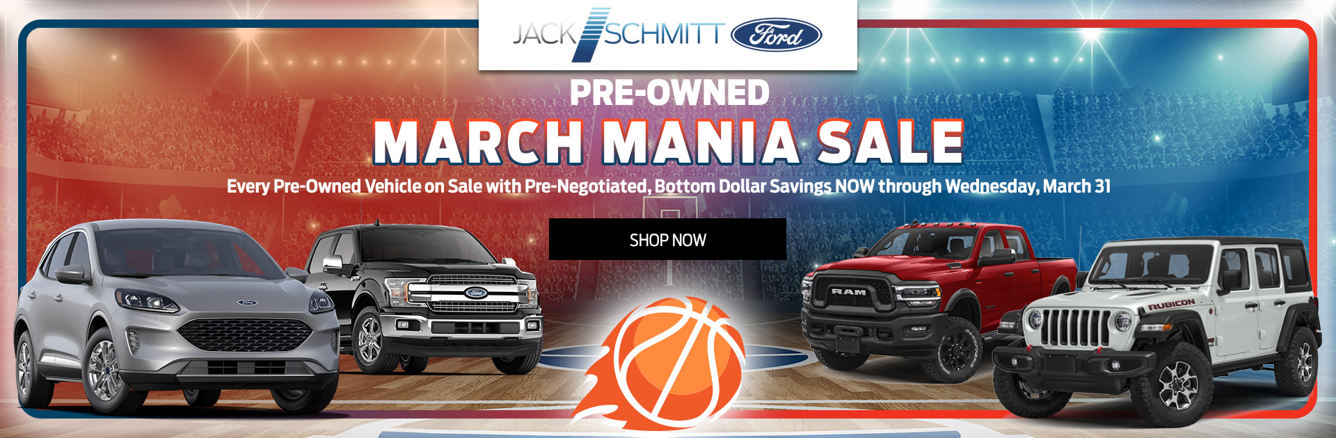 March Mainia Preowned Sale