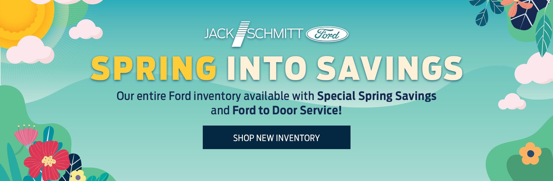 Spring Savings New Inventory