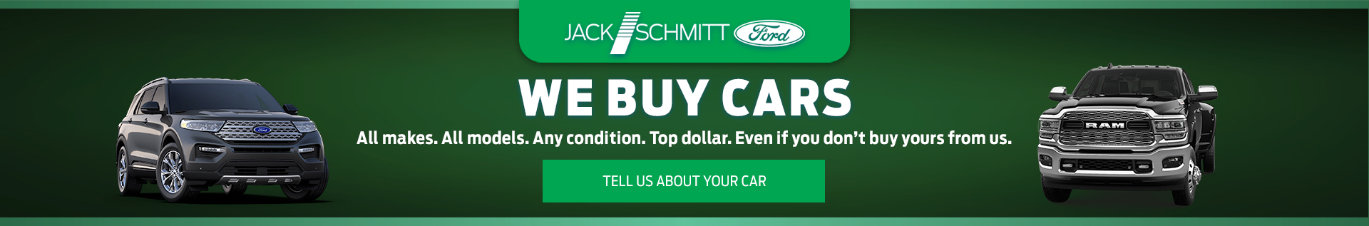 We Buy Cars Spring Srp Banner