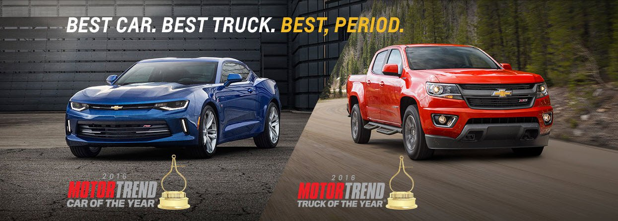 Motor Trend Car and Truck of the Year  Chevrolet Dealer near