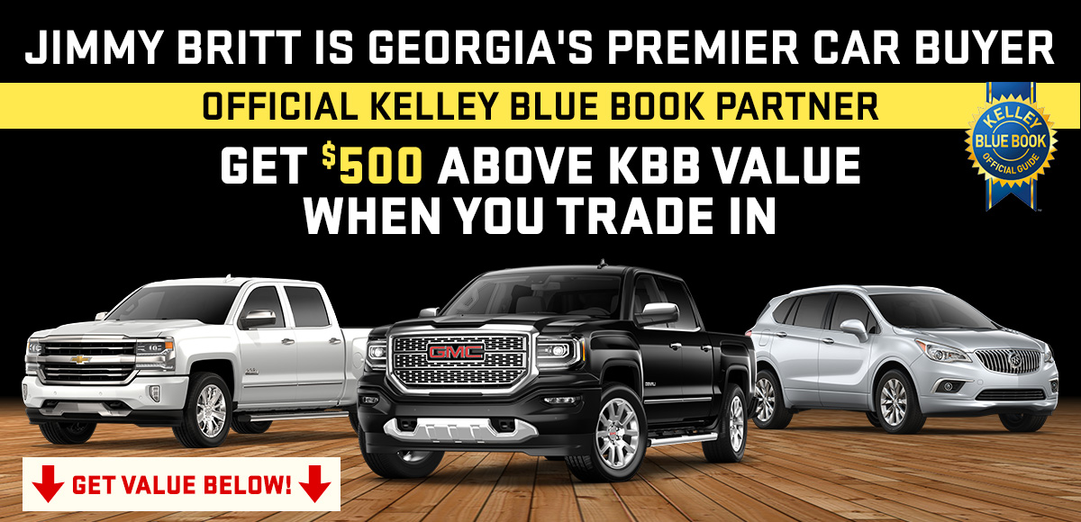 Kbb Used Car Value Calculator >> Value Your Trade With Jimmy Britt Chevrolet