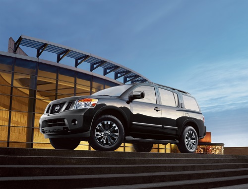 The 2018 Nissan Armada Offers Powerful Engine Options U0026 Capable Towing  Capacity