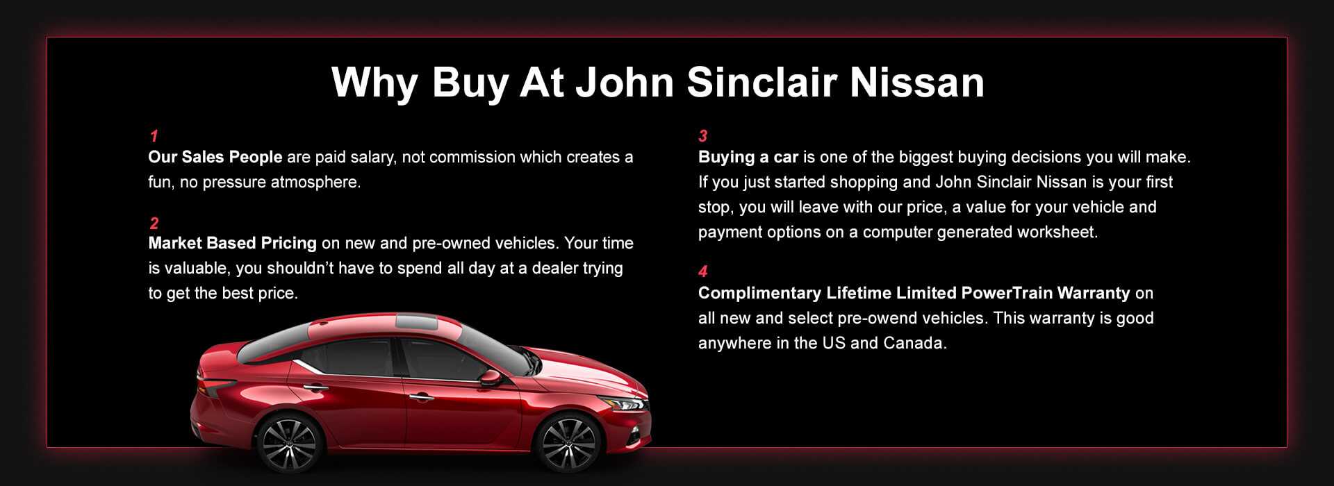 Nissan Make A Payment >> John Sinclair Nissan New Used Nissan Car Dealer Cape