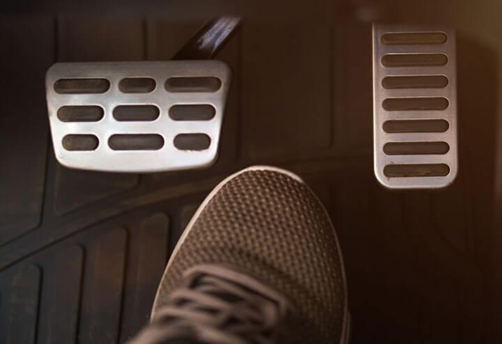 pedal responsiveness