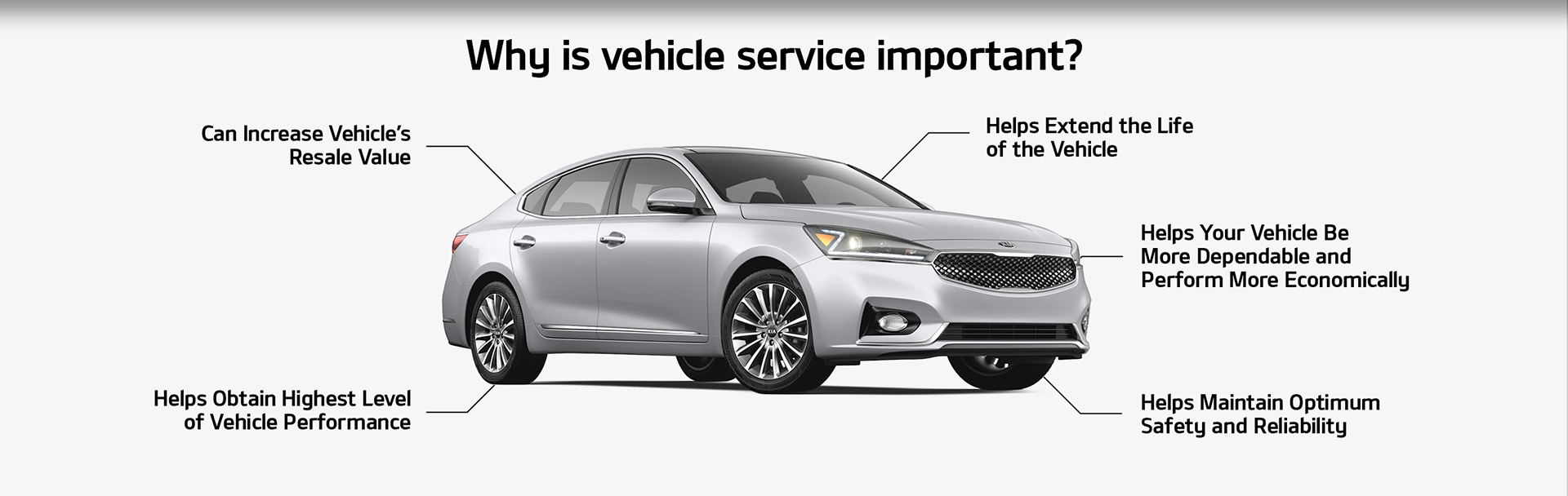vehicle service is important
