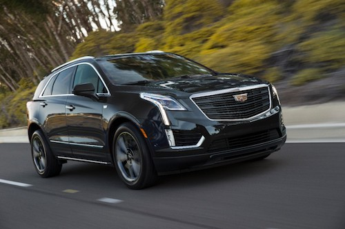 2019 Cadillac XT5 Sport Package driving