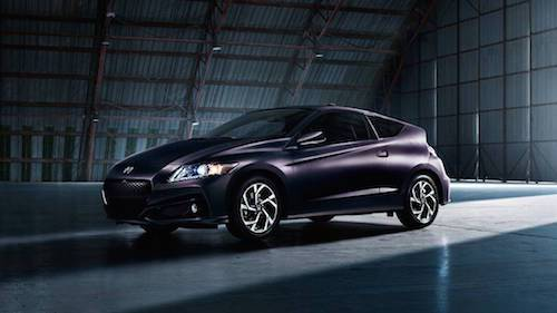 2016 Honda CR-Z Purple