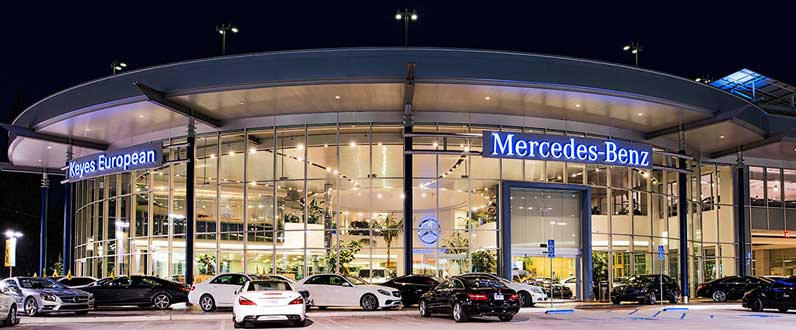 About keyes european mercedes benz dealership in van for Mercedes benz dealer van nuys