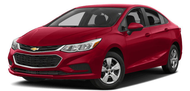 Red 2018 Chevy Cruze