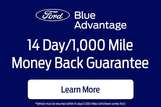 Ford Money Back Gurantee