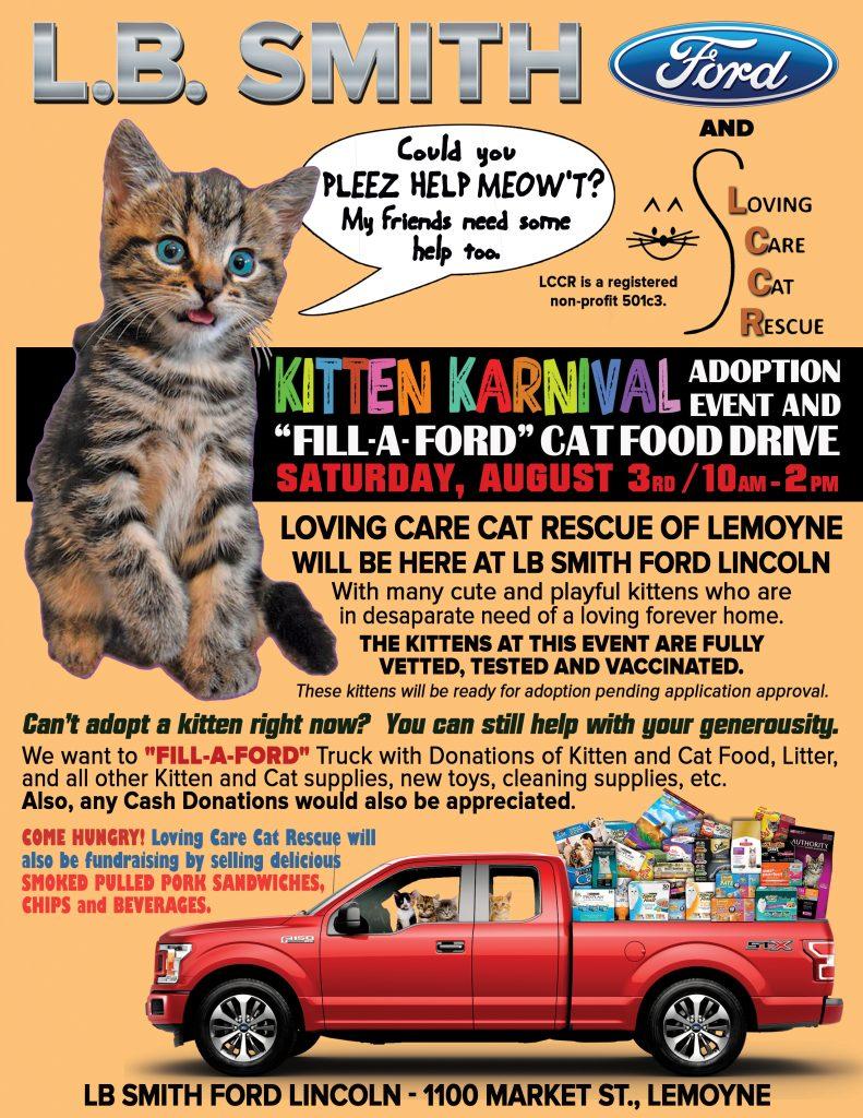 LB Smith Kitten Karnival 2019