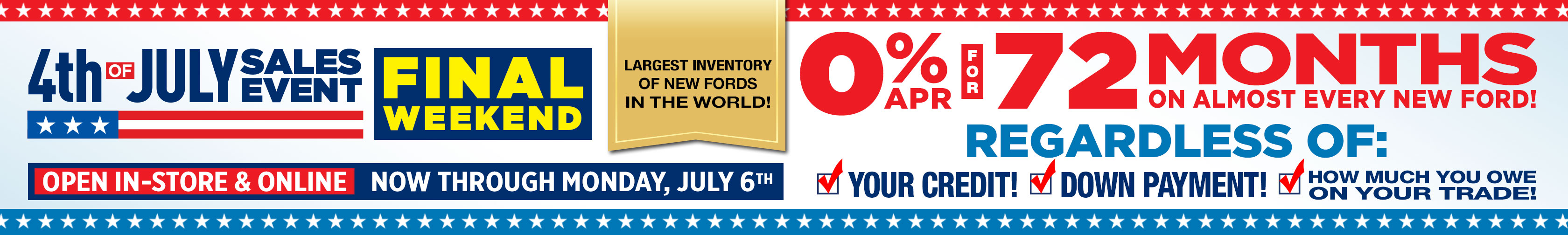 Ford 4thjuly2020 0for72 Srp Fw 3360x504 C1