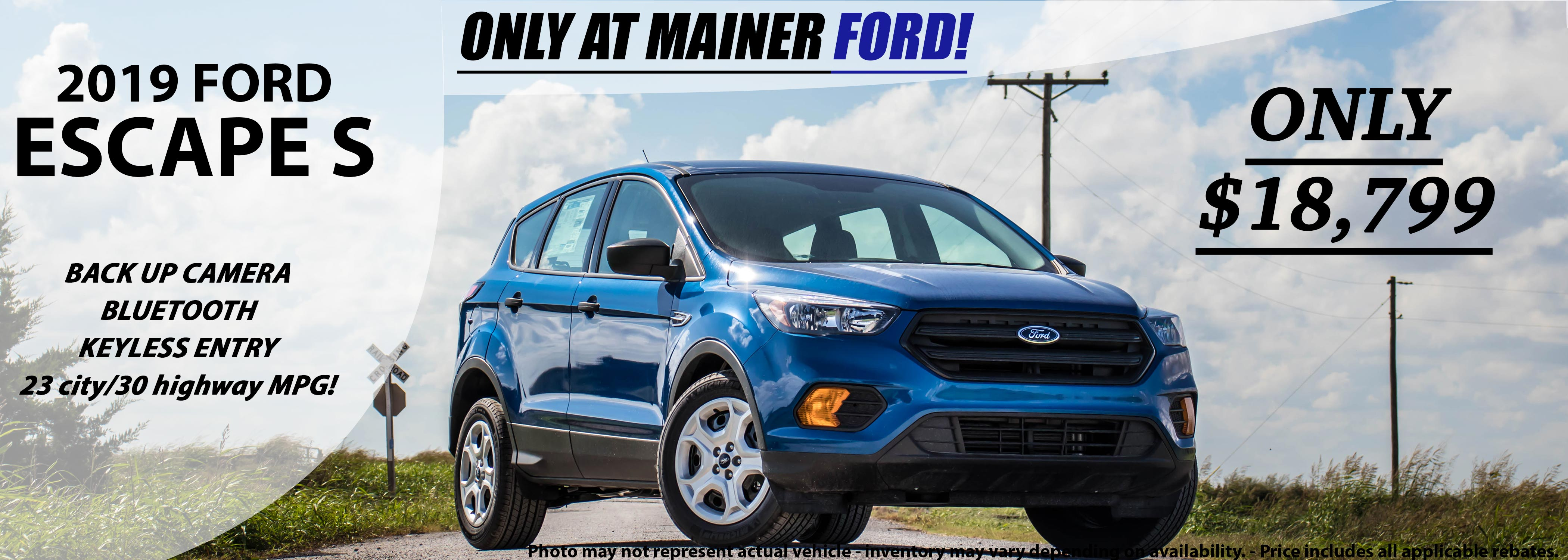 Ford Dealership Okc >> Mainer Ford: New & Used Cars, Ford Dealership in Okarche ...