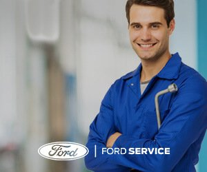 Ford Serviceman with Tire wrench