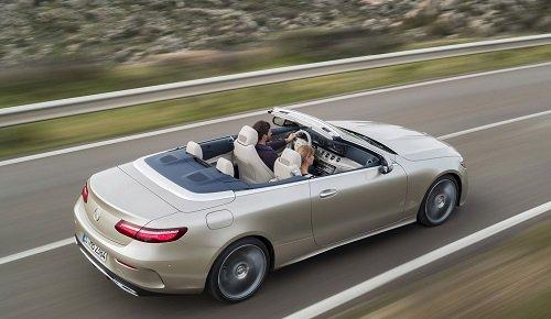 MercedesBenz Introduces AllNew 2018 EClass Cabriolet