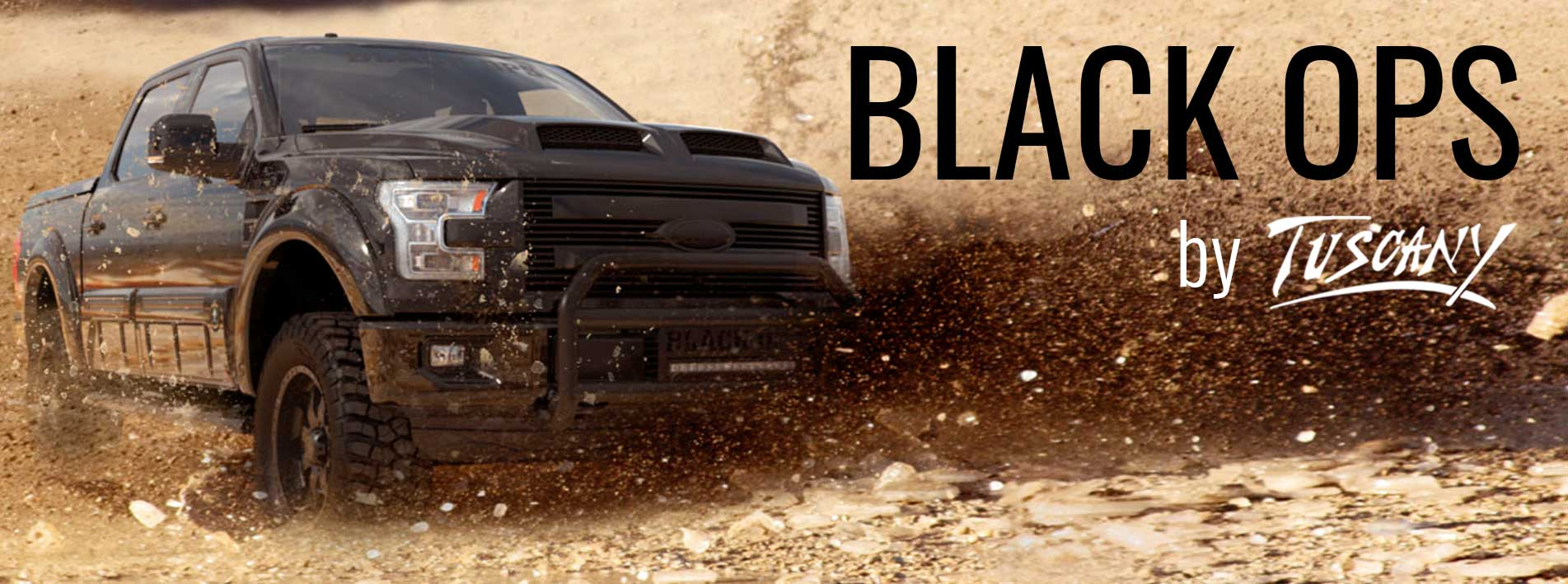 F 150 Black Ops By Tuscany