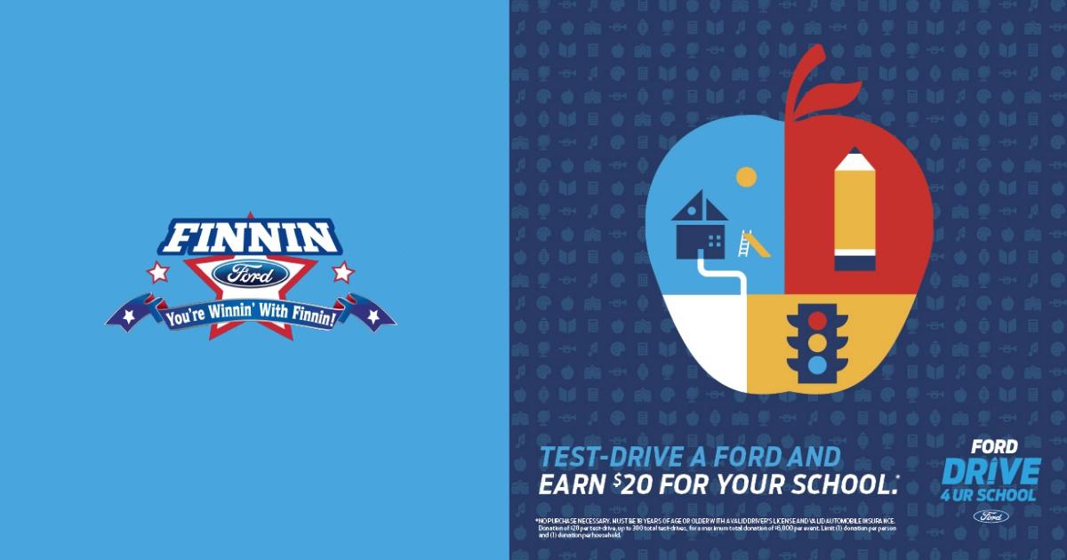 Finnin Ford – Drive 4 Ur School