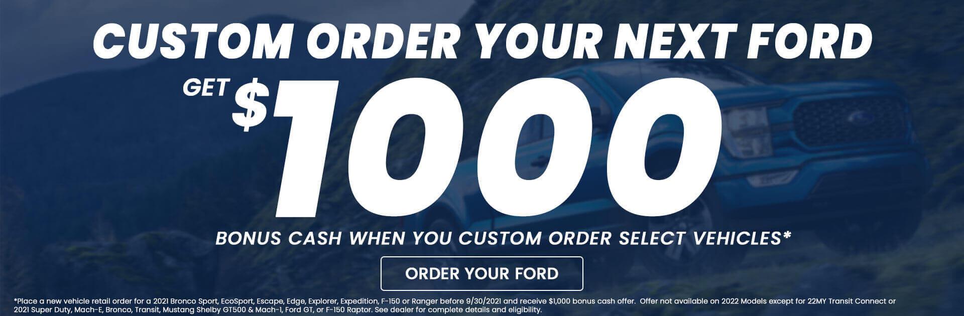 Custom Order Rebate Hero1
