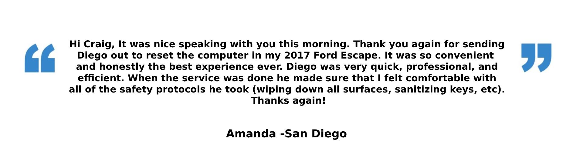 Amanda Review