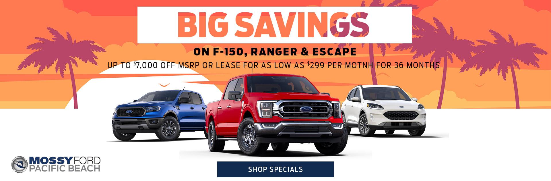 Mossy Ford Big Savings Hero