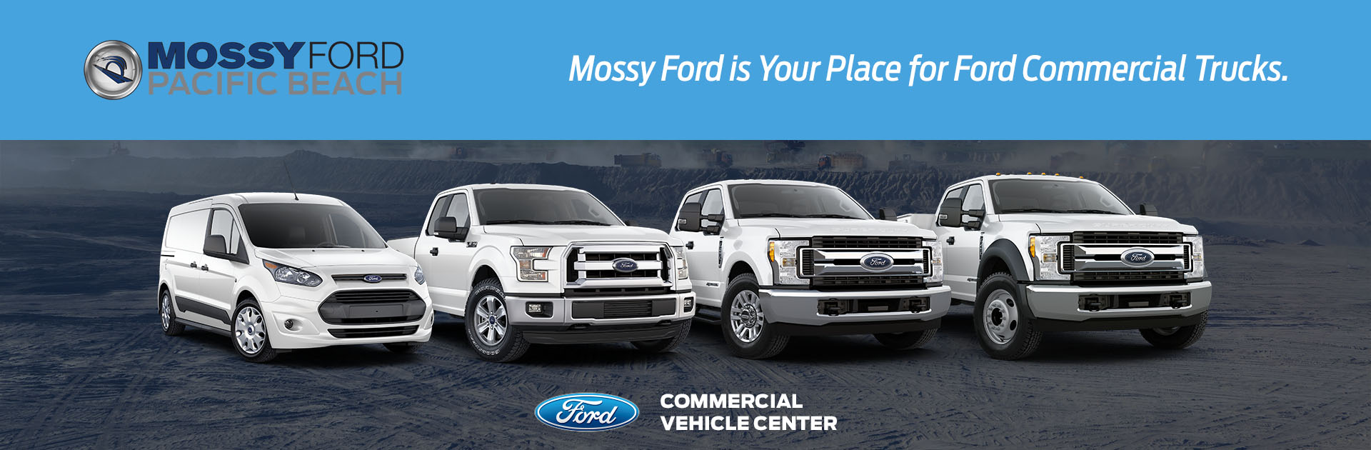Mossy Ford Commercial Truck Hero No Cta